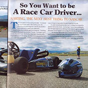 Paul Bussi, Pamela Bussi, Signature Magazine, Go Karts, karting, photography, action photography
